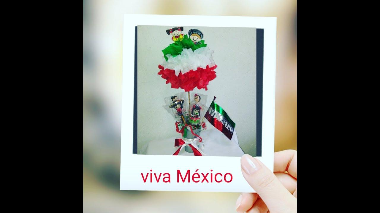 Como hacer centro de mesa mexicano para estas fiestas - Como hacer adornos para fiestas ...