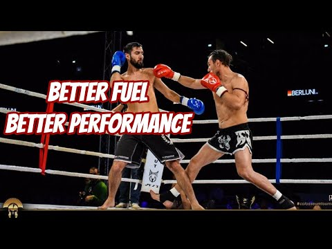 How Muay Thai fighter should eat for a better performance