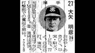 1977年 ヤクルトスワローズ 選手名鑑