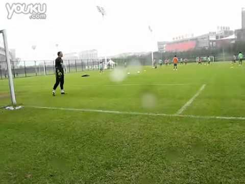 20101010  Uruguay team Training in Wuhan part.1.flv