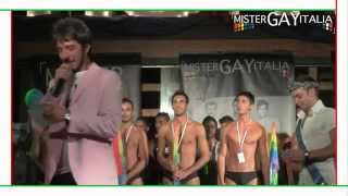 Mister Gay italia 2011 - OFFICIAL VIDEO