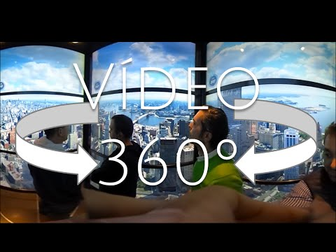 Spectacular 360 elevator to the one world trade center observatory