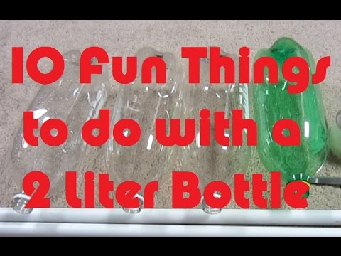 10 Fun Things To Do With A Plastic Bottle Soda Bottle Crafts Fun