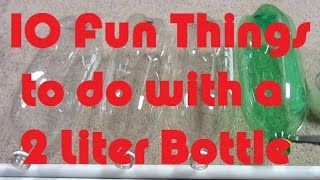 10 Fun Things To Do With A 2 Liter Bottle - Soda Bottle Crafts