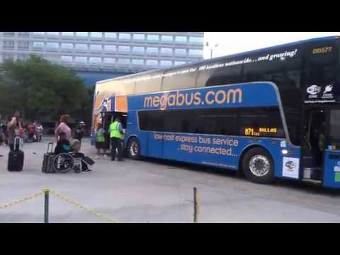 Houston - Dallas (DART East) On $1 Megabus 2016-05-14