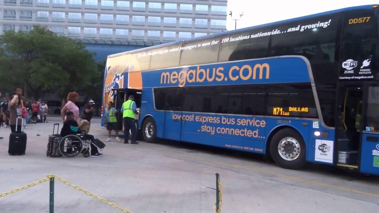 Houston Dallas Dart East On 1 Megabus 2016 05 14 Youtube
