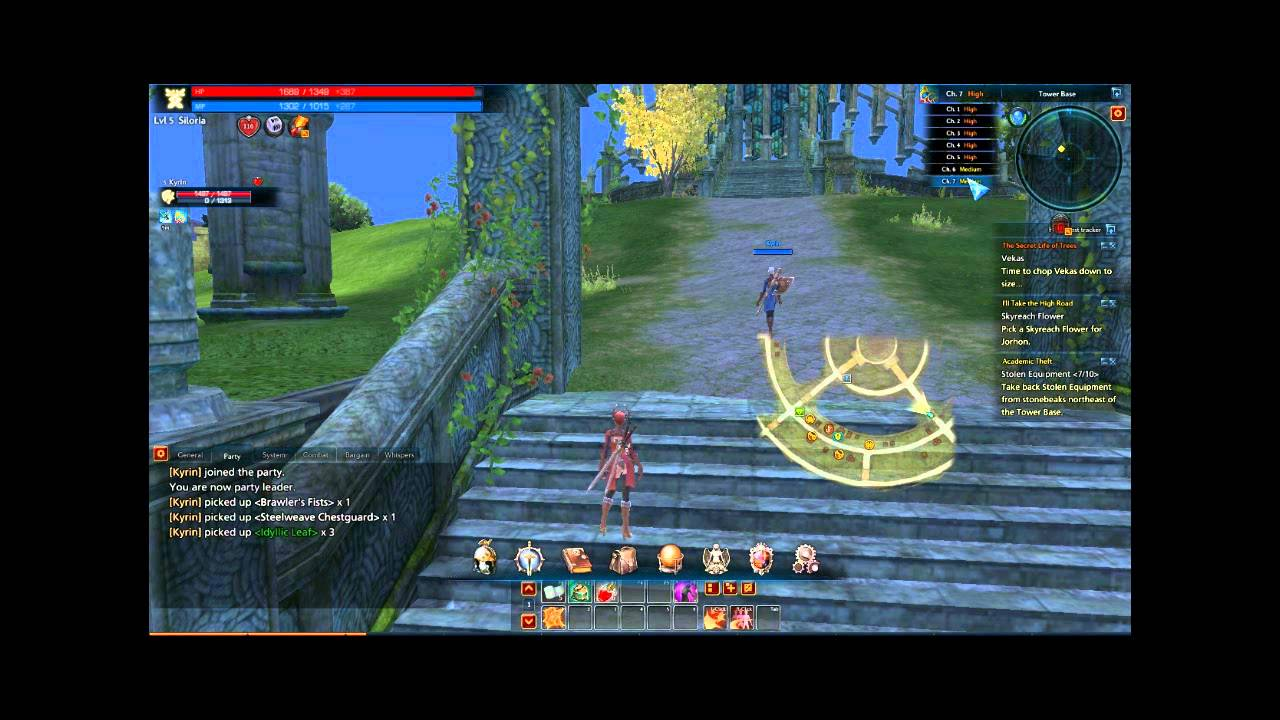 how to get apex quest in tera