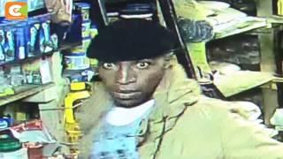 CCTV camera records robbery in progress in Nyeri