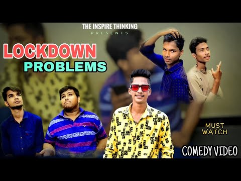 Lockdown Problems || Comedy Video || The Inspire Thinking #withme #stayhome