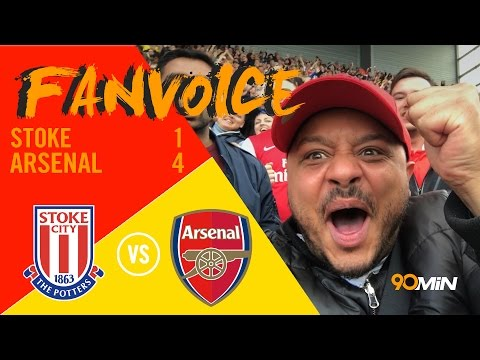 Giroud and Sanchez goals give Arsenal win, Stoke 1-4 Arsenal  | 90min FanVoice