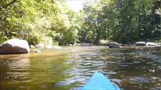 Kayaking Jordan Pond and the Plover River