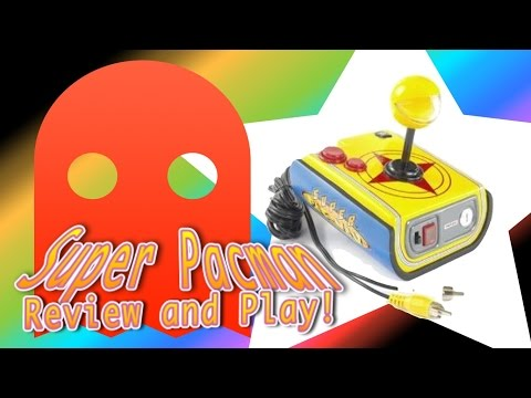 Jakks Pacific Plug And Play Super Pacman Review And Play