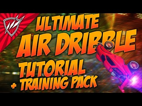 ULTIMATE AIR DRIBBLE Rocket League Tutorial GROUND & WALL | Most Common Mistakes SOLVED!
