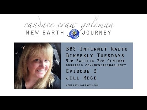 Candace Craw-Goldman interviews Jill Rege (Autism Recovery) on New Earth Journey Radio, Episode 3