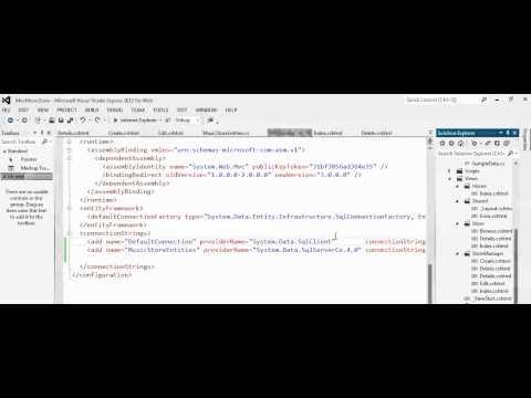 ASP.NET MVC How to fix error Unable to retrieve metadata for