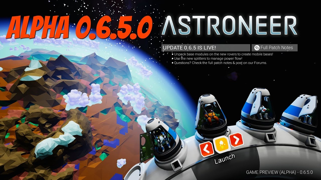 Astroneer 0 6 5 0 #1 New update, new save file by dwarfy