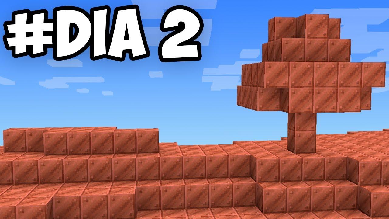 Cubrí mi MUNDO con 10,000 de COBRE en Minecraft Survival...