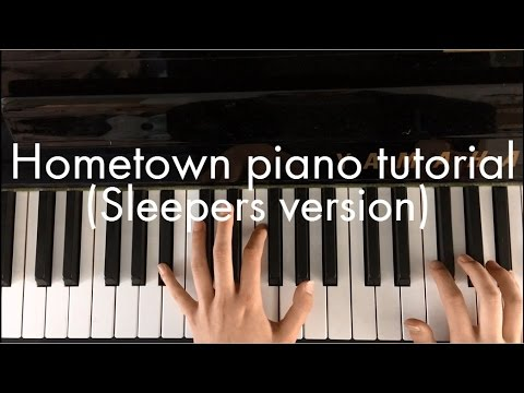 Hometown (Sleepers version) - twenty one pilots piano tutorial || by Ariane
