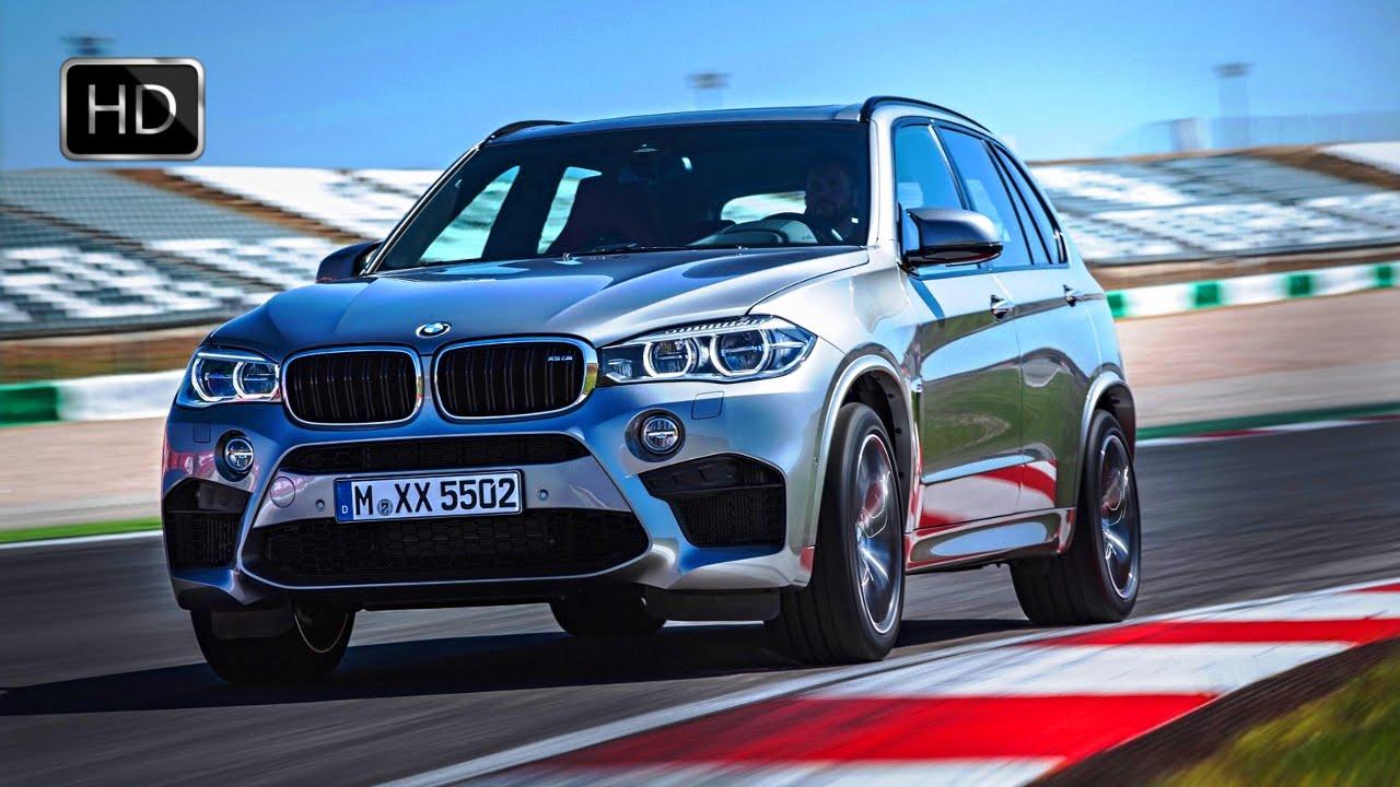 2015 BMW X5 M 575 HP SUV Test Drive On Racetrack HD