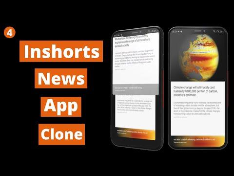 Inshorts News App Clone | Setup Firebase Database | Android Studio Tutorial