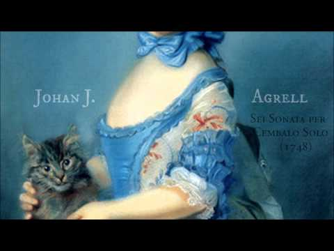 Johan J. Agrell - Six sonatas for harpsichord solo, Op. 2 (1748)