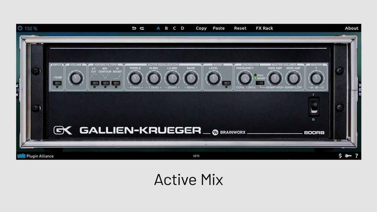 Gallien-Krueger 800RB - Playthrough | Plugin Alliance