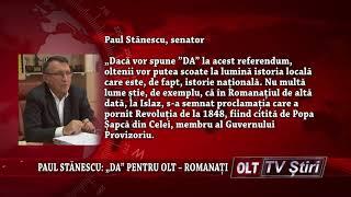 PAUL STANESCU DA PENTRU OLT ROMANATI 0410