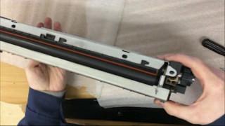 Заміна термоплівки в грубці(fuser) від HP LJ 5100