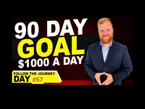 Amazon FBA 90 Day Goal: $1000 a Day: Day 57