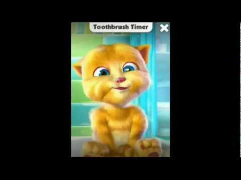 Игра Говорящий Кот Рыжик, Talking Ginger на телефон