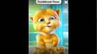 Игра Говорящий Кот Рыжик, Talking Ginger на телефон