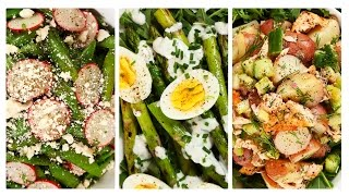 3 Fresh & Healthy Salad Recipes!