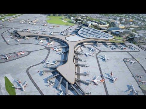 Megastructure Mumbai International Airport Terminal 2 Construction - Megastructures