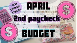 APRIL 2020 BUDGET-2ND PAYCHECK/WE OWE TAXES/STIMULUS CHECK