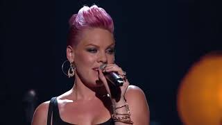 P!nk & Nate Ruess   Just Give Me A Reason Live   YouTube