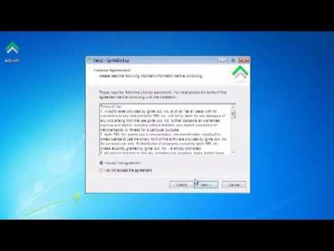 How to Install Ignite Backup Ignite 360 by Wes Winarski
