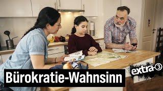 """""""extra 3""""-Familie – Ausflugsplanung im Stil einer deutschen Behörde"""