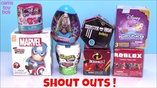 My Little Pony Unboxing Surprise Toys Disney Monster High Roblox Incredibles 2 Blind Boxes