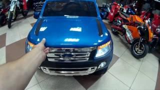 видео: Детский электромобиль Ford Ranger