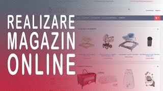видео creare magazin online