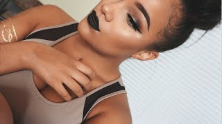 One of AllyiahsFace's most viewed videos: GRWM | Black Lips!