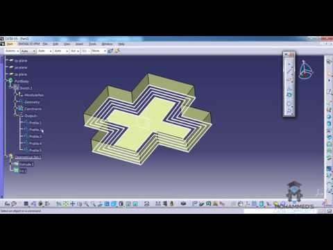 catia-v5-powerful-tricks-collection-#103 using-profile-feature-to-parametrize-a-sketch