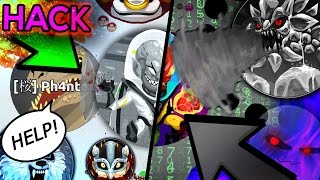 AGAR.IO REAL HACK // HE DISAPPEARED ?! GLITCH?! BUG?! // INVISIBLE HACK // GHOST VOICE REVEAL!!