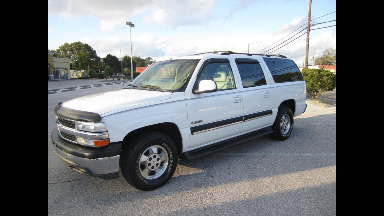 Sold 2001 chevrolet suburban 1500 lt 2wd meticulous motors inc florida for sale youtube