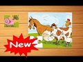 Farm Animals Puzzles Games, educational and funny game for preschool kids & Families by Nar Kids- K