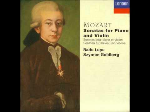 Mozart Violin Sonata in E-flat, K 481 - 2. Adagio