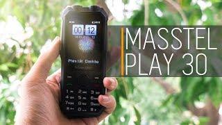Masstel Play 30: Thiết kế hầm hố, pin cực trâu