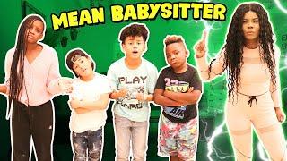 MEAN BABYSITTER PRANK On MICAH, YAYA, MASON, AND DJ!!