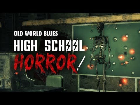 Old World Blues 4: High School Horror! Roxie and the X-8 Research Center