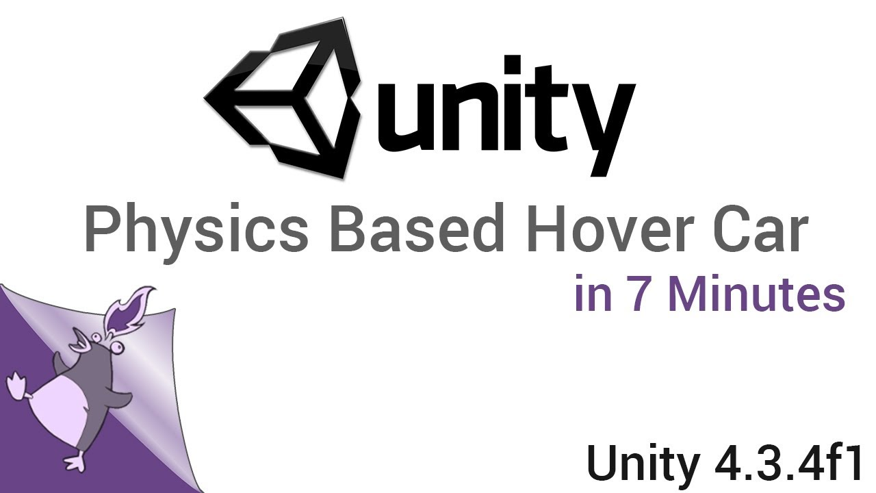 Unity: Physics based Hover Car in 7 Minutes